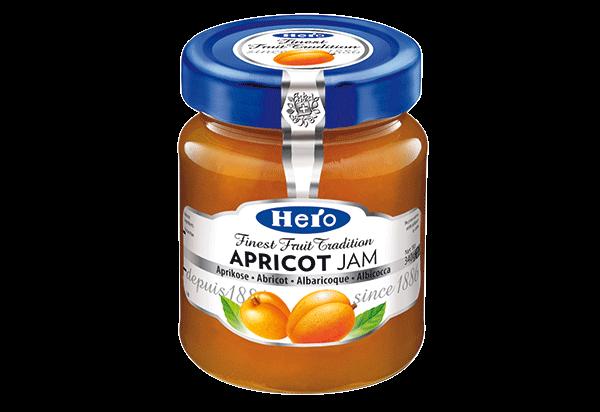 Hero Apricot jam 340g
