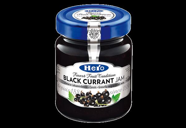 Hero Black currant jam 340g