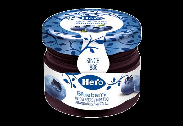 Hero blueberry mini jar