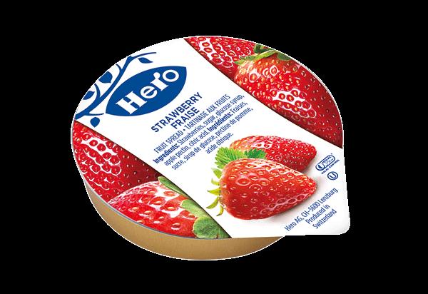 Hero strawberry Alu portion